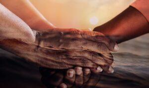 Handschlag verschiedener Nationen (Ausländerrecht und Asylrecht)